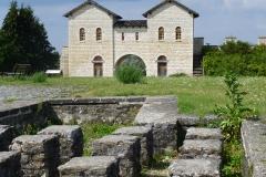 Castrum Biriciana in Weißenburg – Nordtor von Süden