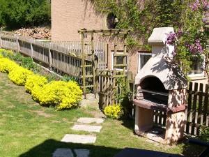Ferienhof Erika Kühleis - Garten