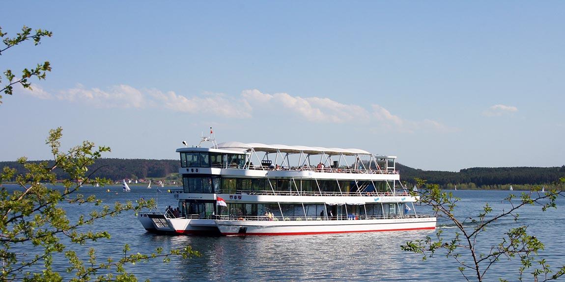 Erlebnisschifffahrt - MS Brombachsee