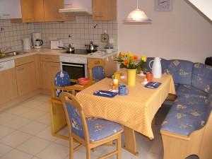 Ferienhaus Kühleis - Küche