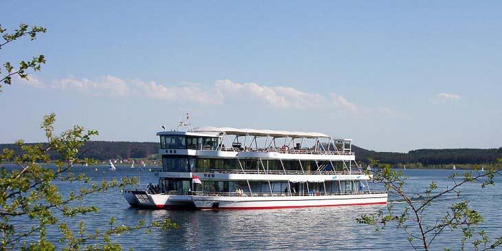 Erlebnisschifffahrt – <br />MS Brombachsee